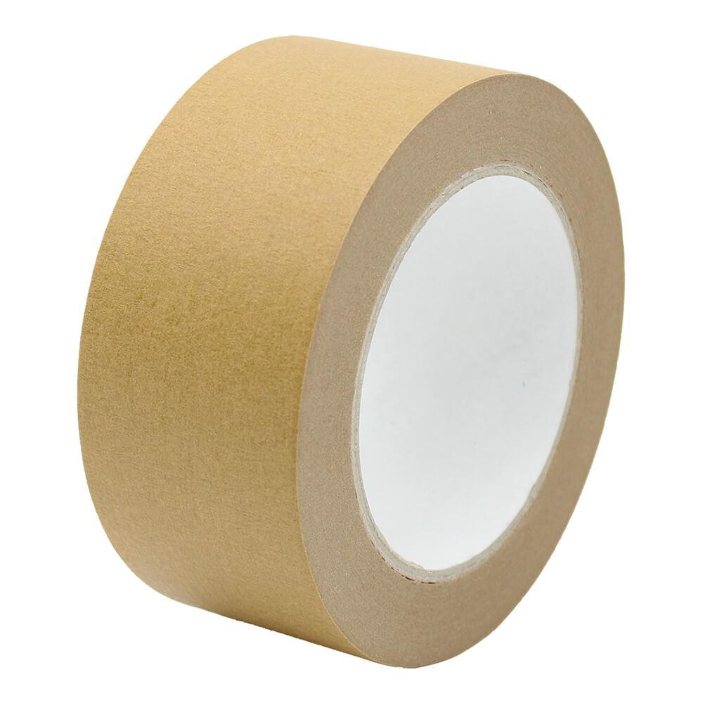 6 Rollen Papierpackband Klebeband Papier-Klebeband Paketband braun 50mm x 50m