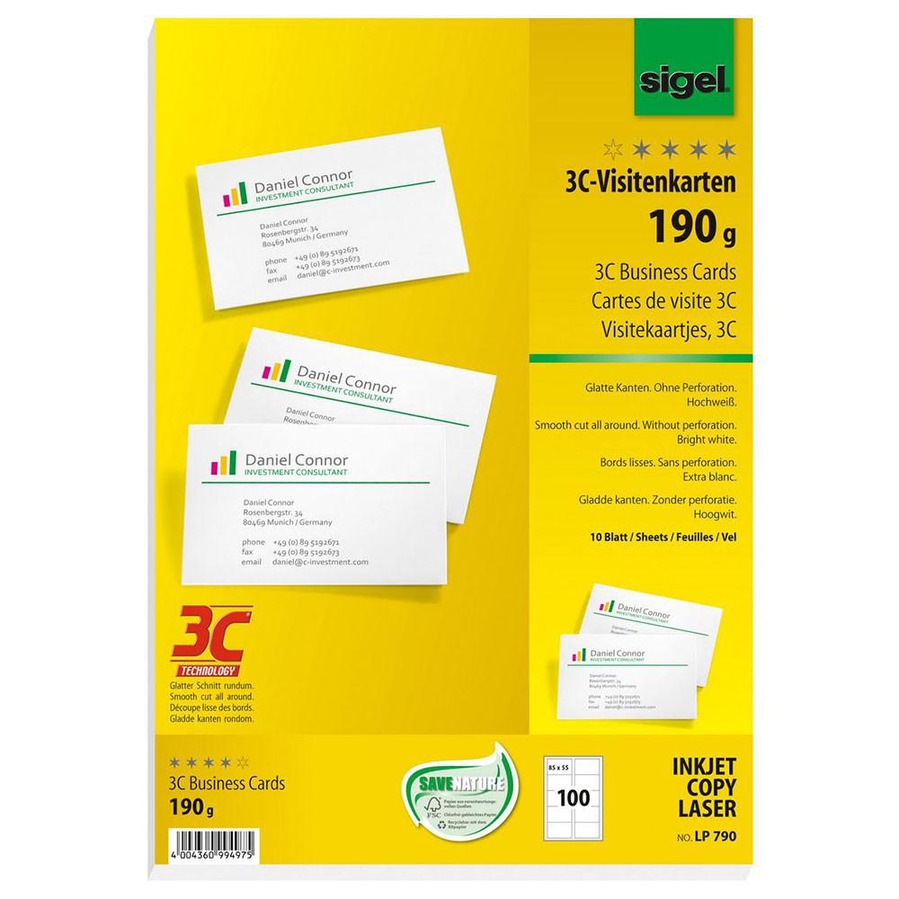Visitenkartenspender Visitenkartenbox 100 Visitenkarten für ca